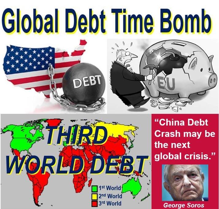 Global debt time bomb