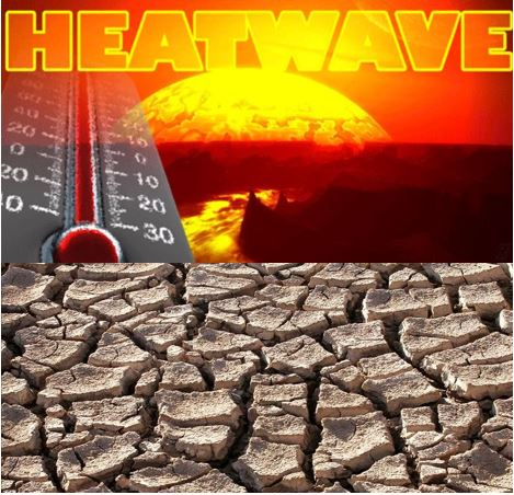 Heatwave from climate change