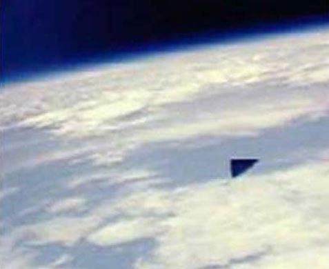 NASA triangular UFO pic