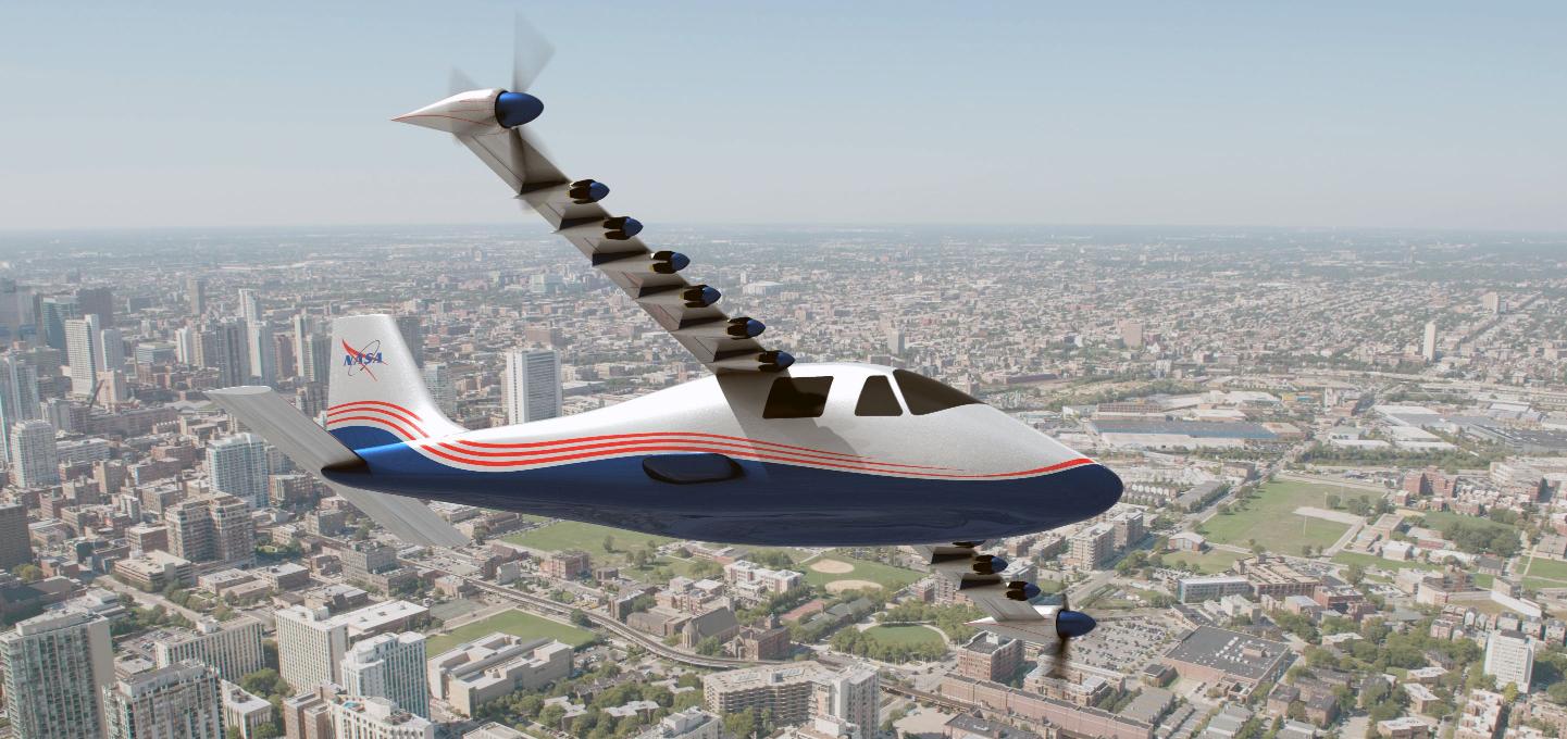 NASA_Maxwell_Electric_Plane