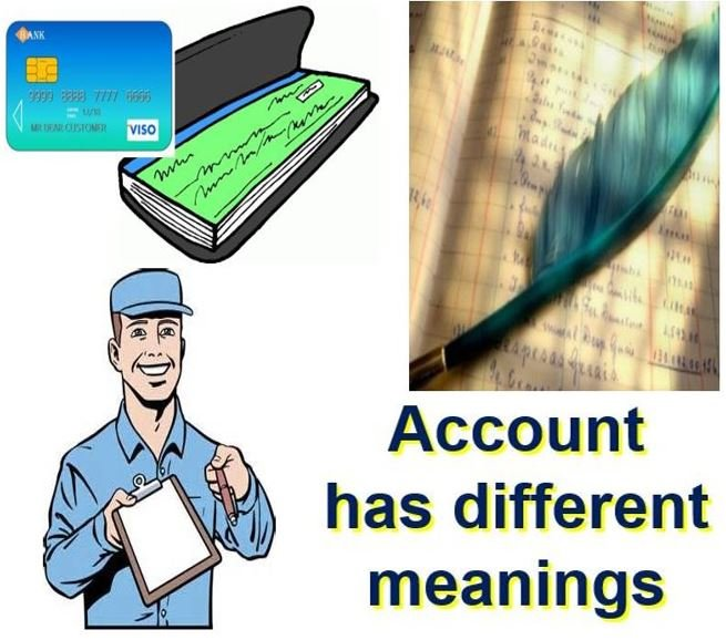 What is an account definition and meaning