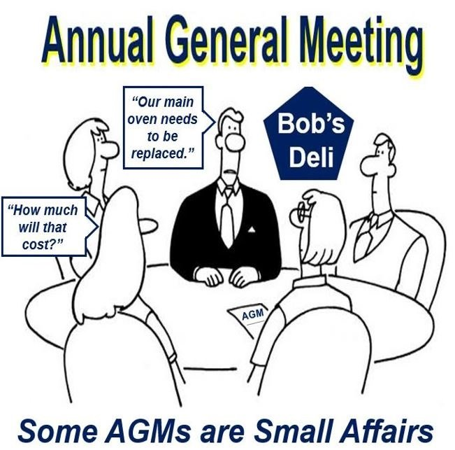 A very small Annual General Meeting