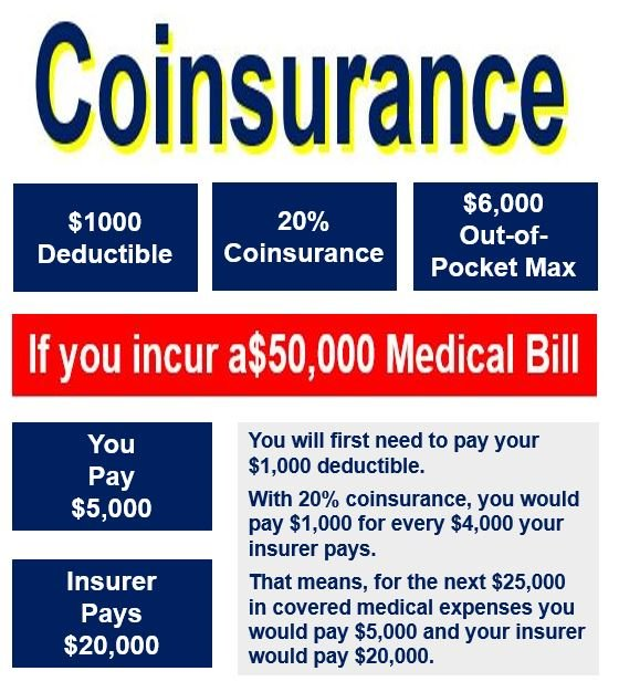 What is coinsurance? Definition and meaning - Market ...
