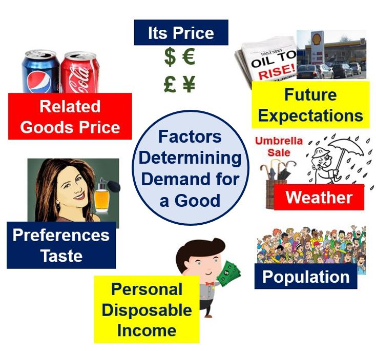 elasticity of demand and its factors Determinants of elasticity of demand apart from the price, there are several other factors that influence the elasticity of demand these are: consumer income: the income of the consumer also affects the elasticity of demand.
