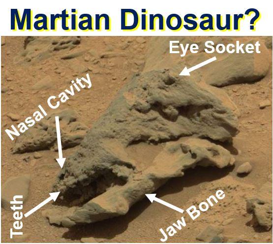 Martian Dinosaur