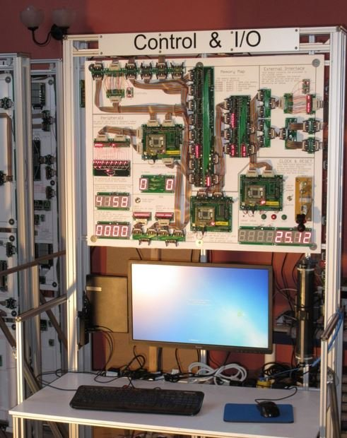 Mr Newman built a mega computer
