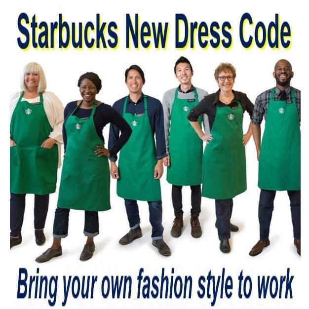 Starbucks new dress code