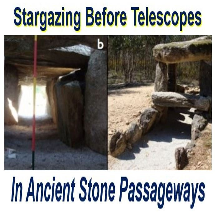 Stargazing before telescopes in ancient tombs