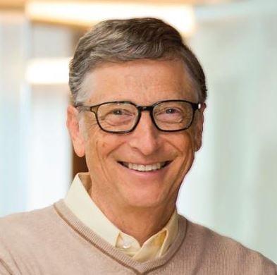 Bill Gates twitter pic