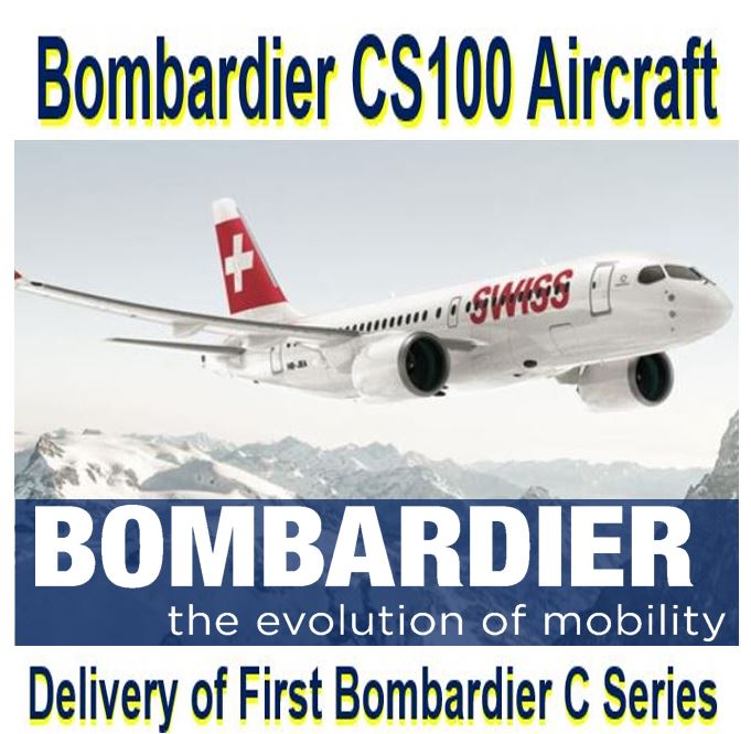 Bombardier CS100 Aircraft