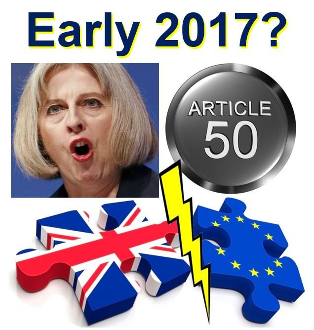 Brexit Article 50 likely early 2017