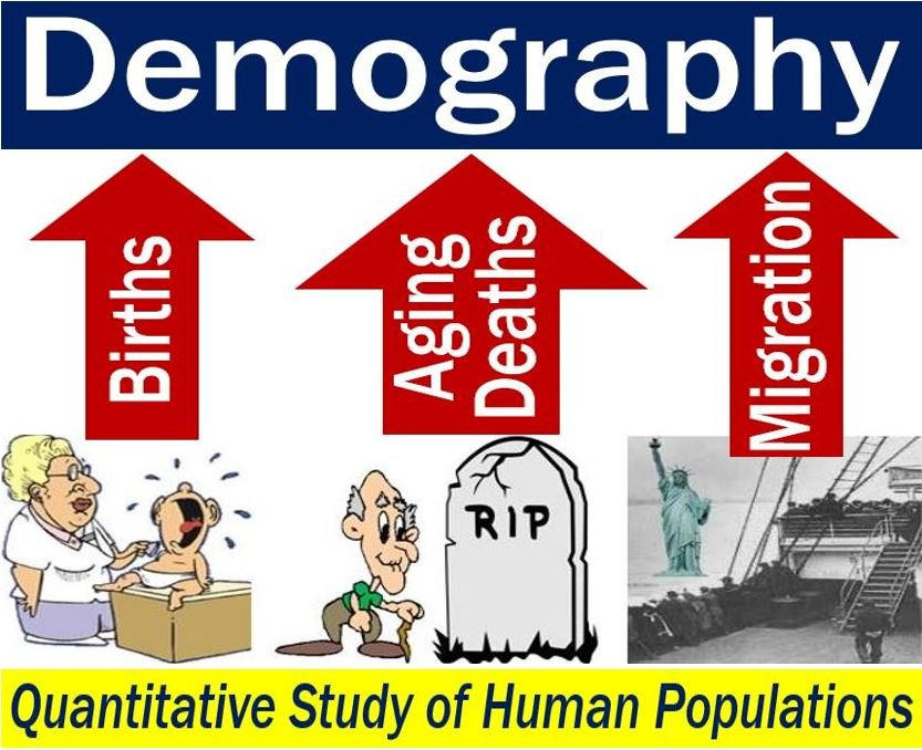 Demography - image with explanation