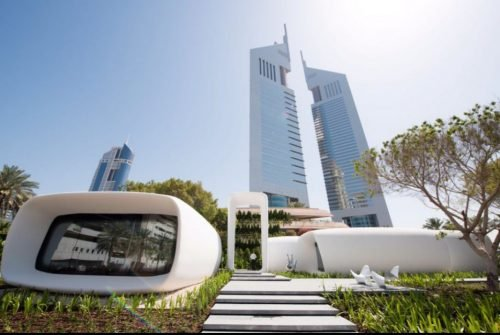 3D printed office built via Dubai future accelerators