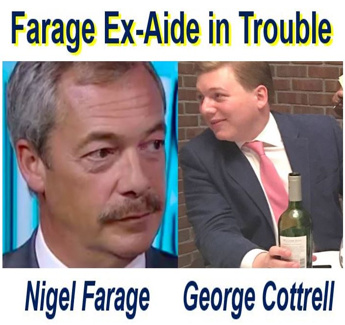 Ex aide of Nigel Farage George Cottrell arrested in USA