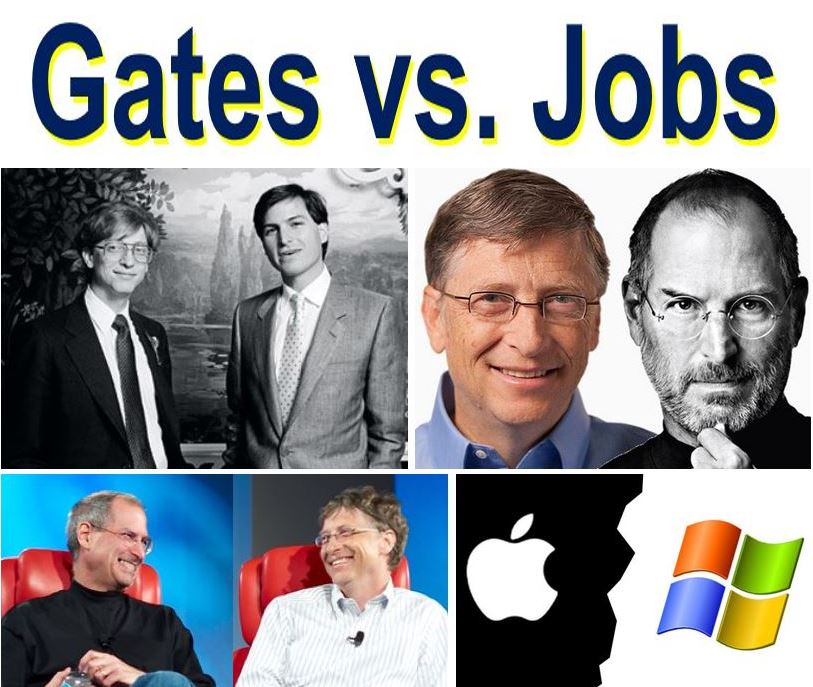Gates versus Jobs competitors