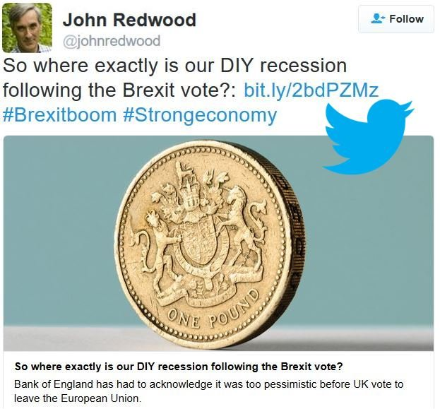 John Redwood Brexit comment