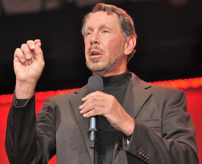 Cloud computing - Larry Ellison