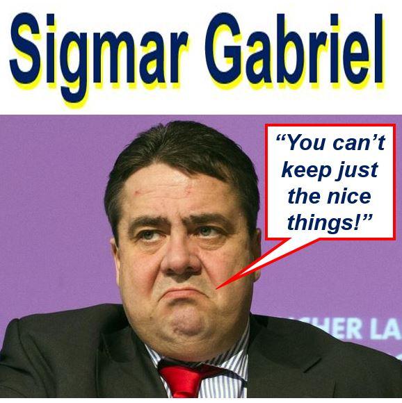 Sigmar Gabriel on Brexit