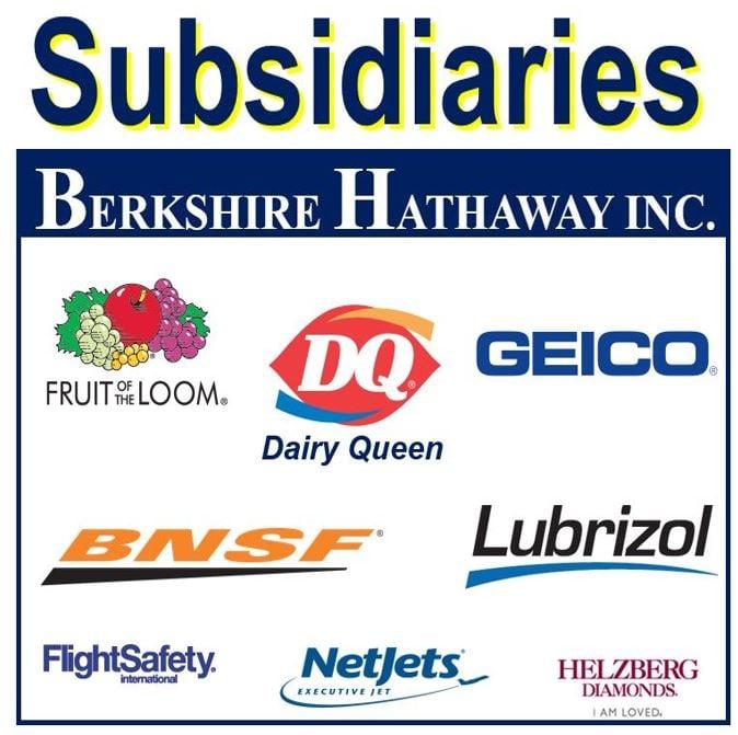 Subsidiary Berkshire Hathaway