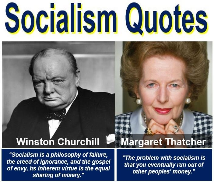 Winston Churchill and Margaret Thatcher