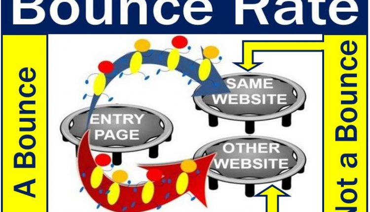 Bounce rate - what is and what is not