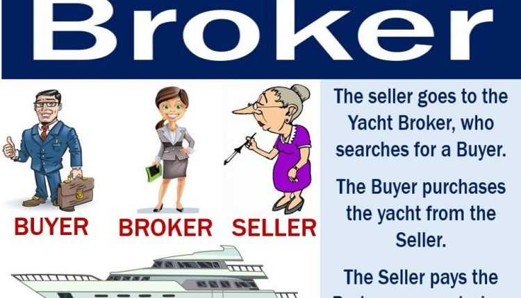 Broker Buyer and Seller when trading a yacht