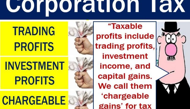 Corporation Tax - explanation image