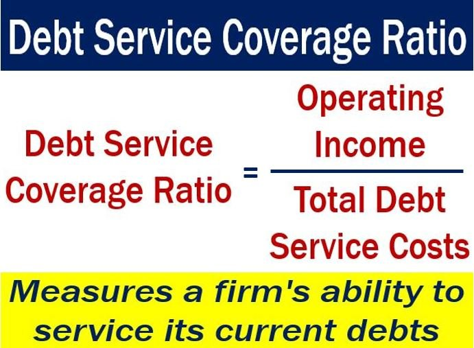 debt service ratio Debt service coverage ratio compliance often is required by a bank loan covenant download our free excel tool to calculate the debt service coverage ratio.