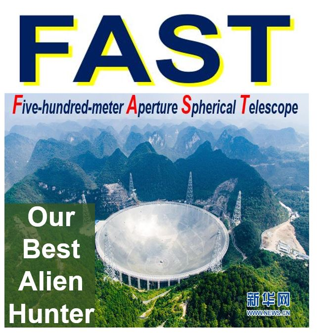 FAST - our best alien hunter