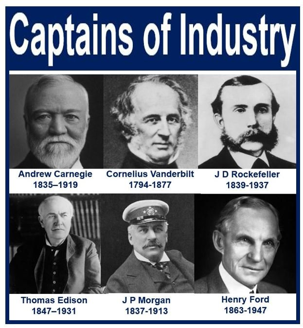 captains of industry essay topic