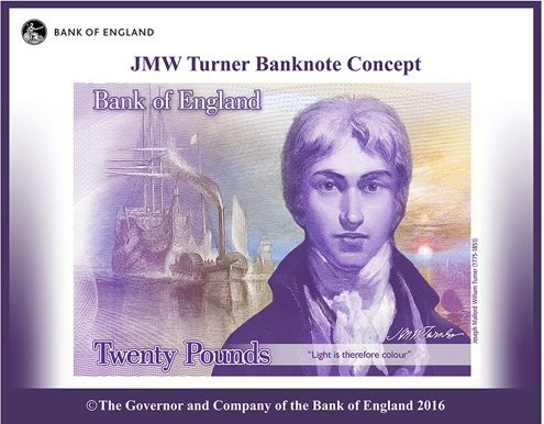 New twenty pound note