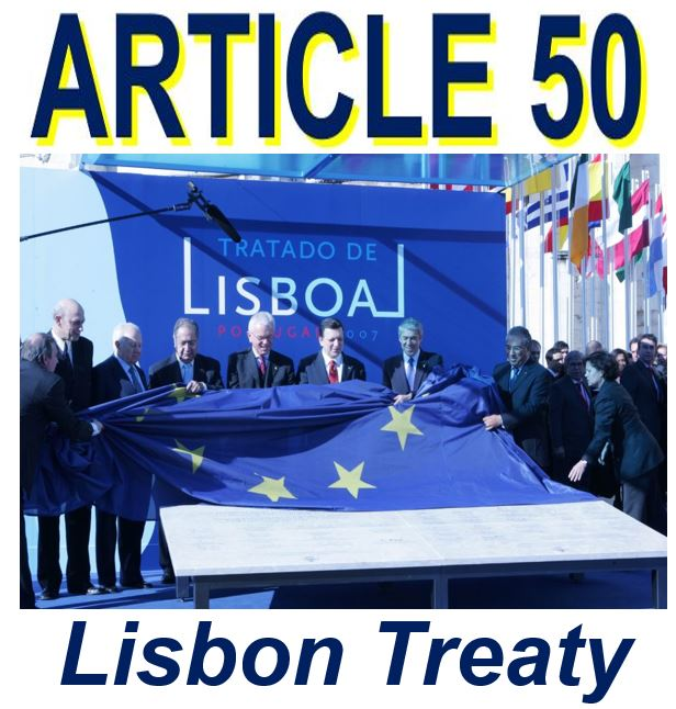 Article 50 of the Lisbon Treaty