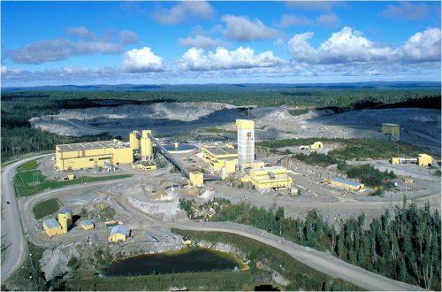 mining companies Barrick Gold Hemlo mine
