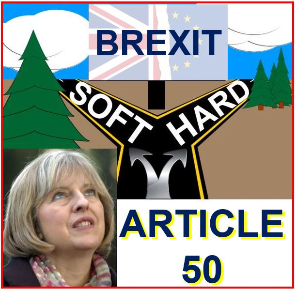 Theresa May Article 50 Brexit