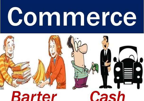 Commerce barter or cash - image