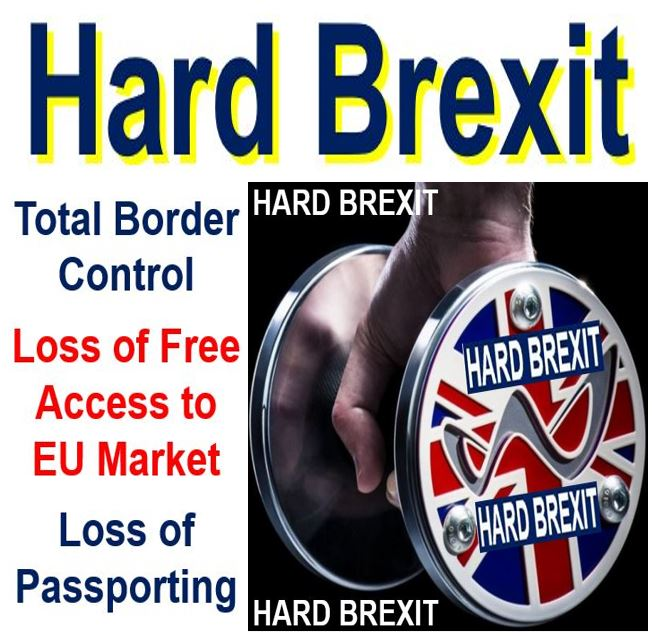 Hard Brexit features