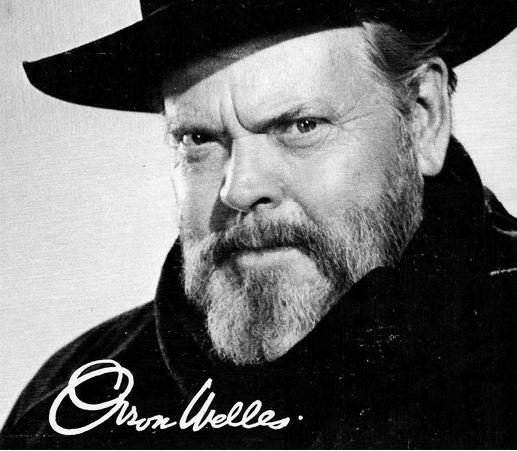 Orson Welles client quote