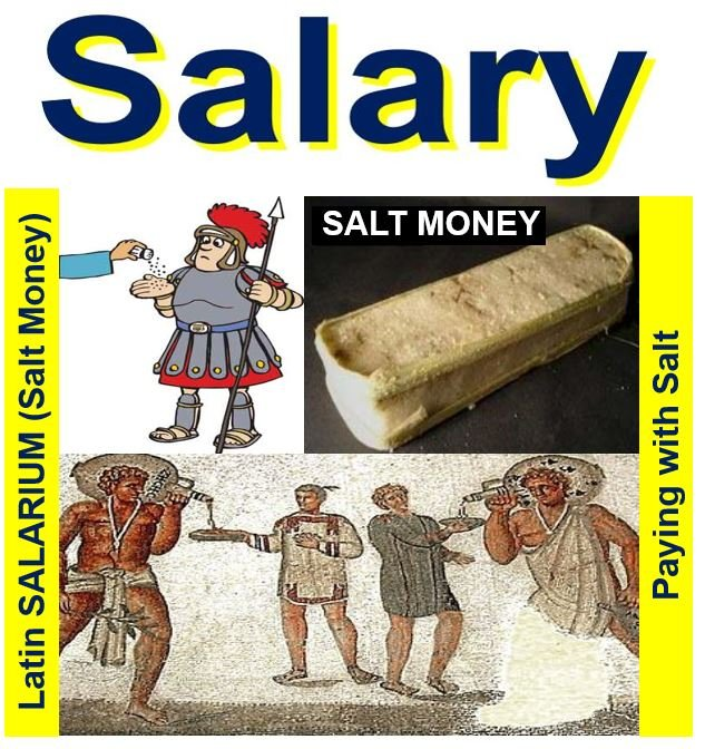 Salary - paying with salt