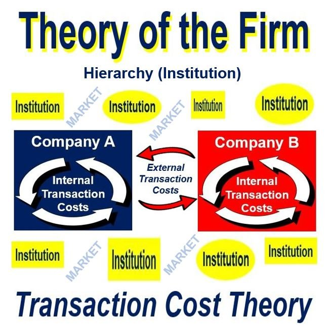 Theory of the Firm - Transaction costs