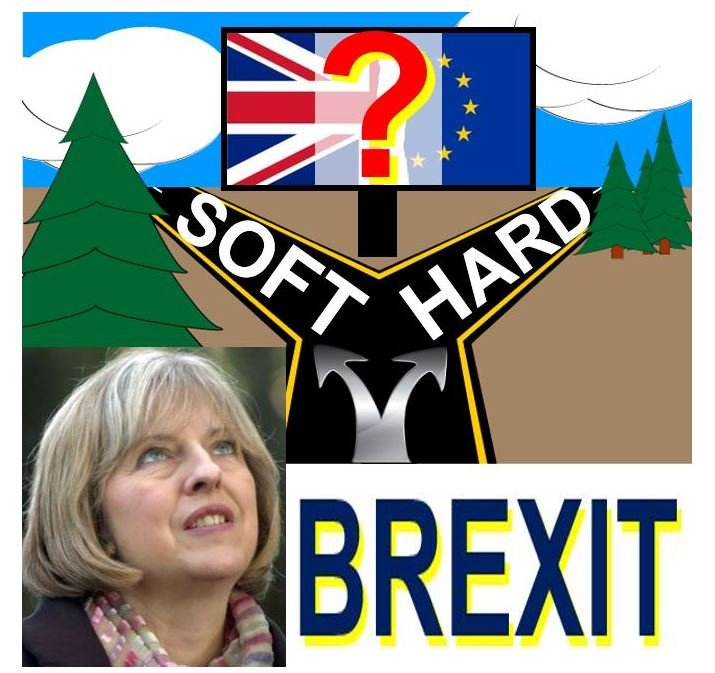 Theresa May considering Soft or Hard Brexit