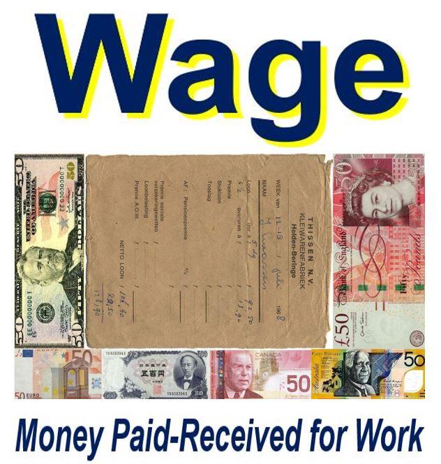 Wage image