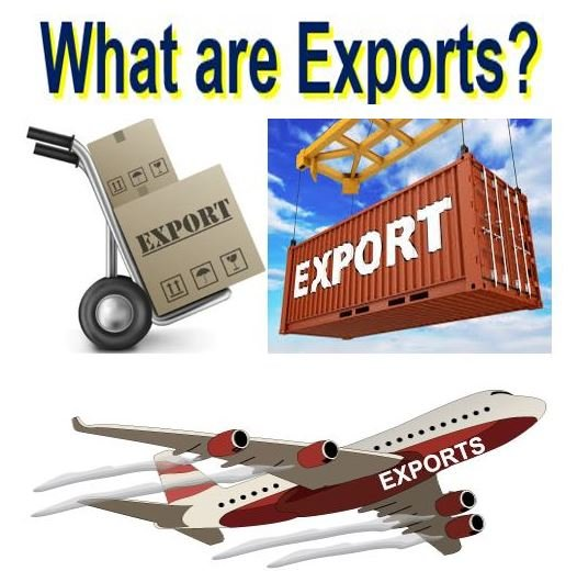 What are exports?