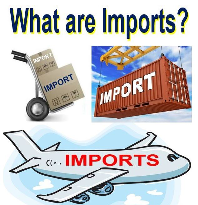 What are imports?