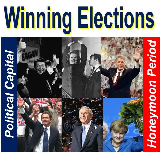 Winning elections and political capital