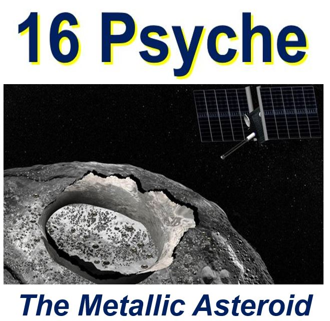 16 Psyche, the metallic asteroid
