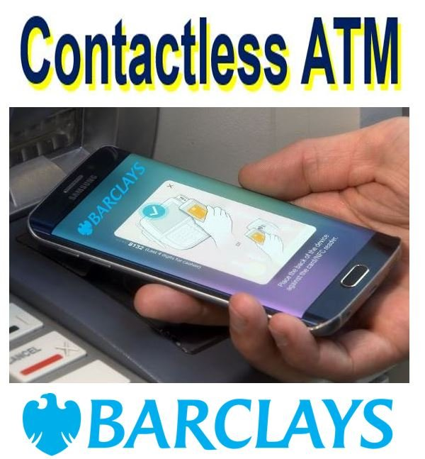 Barclays contactless ATMs