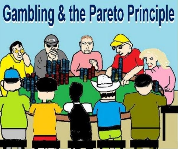 Gambling and the Pareto Principle