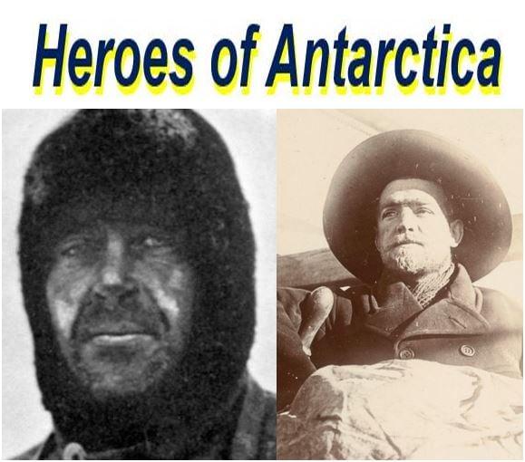 Heroes of Antarctica