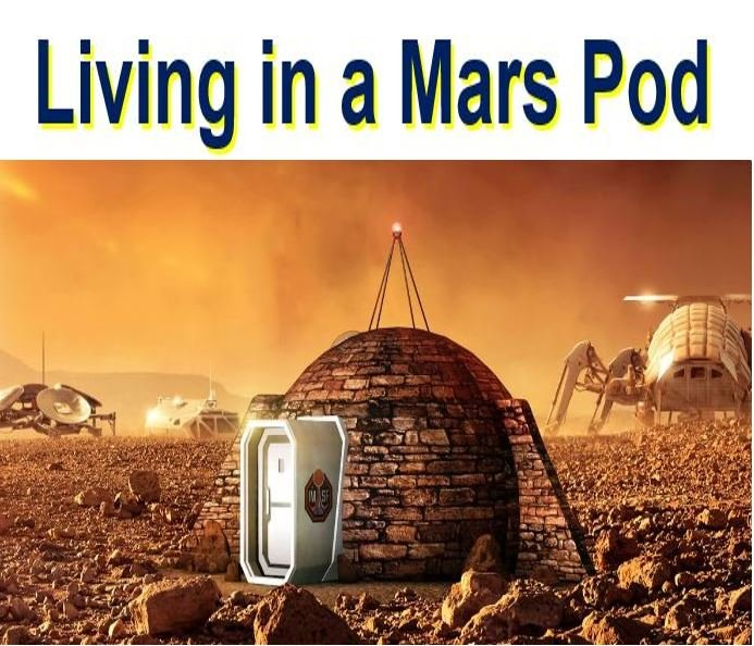 Living in a Mars home