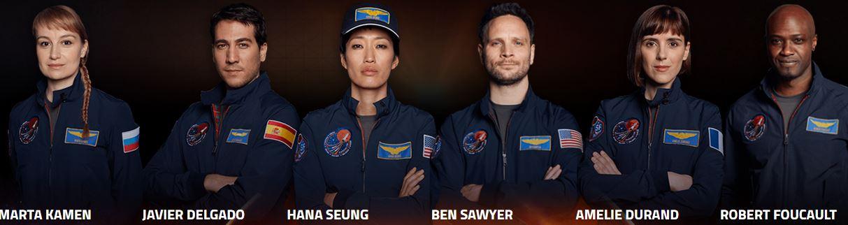 The Mars series crew